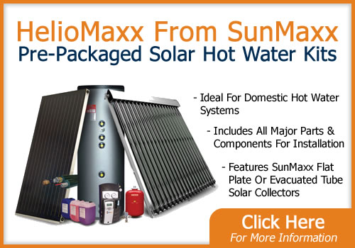 SunMaxx Pre-Packaged Solar Hot Water Kits